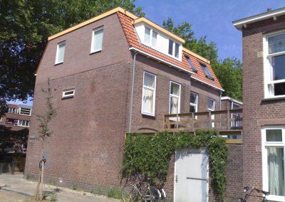 2009 dubbele dakopbouw Utrecht