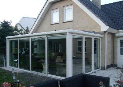 2010 uitbouw serre Almere
