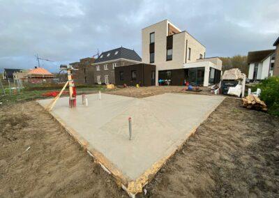 2021 vloer en fundering vogelhorst Almere Hout